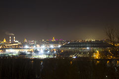 Den Luzhniki stadion Arkivfoto