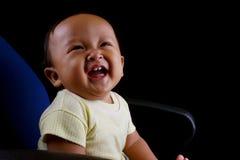 Behandla som ett barn skratt Royaltyfria Foton