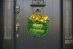 Den lyckliga dagen för St Pats Sts Patrick dag ståtar, 2014, södra Boston, Massachusetts, USA Arkivbilder