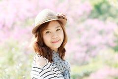 Asien kvinna Fotografering för Bildbyråer
