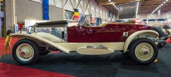 Den lyxiga bilRolls-Royce Phantom I Fartyg-svansen Tourer, 1928 Royaltyfria Bilder