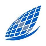Den lyxiga fritids- seglingen seglar modern logo Royaltyfri Foto
