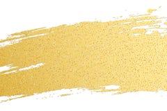 Den lyxiga räkningen av den guld- grungelinjen och guld blänker Guld- fläck Skinande sudd Bakgrund för ditt projekterar också vek Fotografering för Bildbyråer