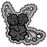 Den lyxiga singeln snör åt blomman som isoleras på ljus bakgrund vektor illustrationer