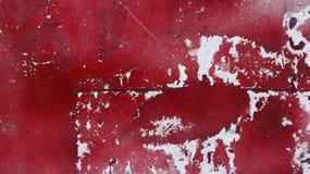 Den målade gamla smutsiga busen skalade skrapad metallyttersida 3 Arkivfoton