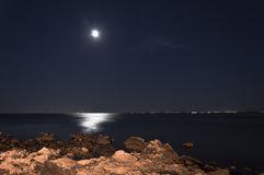 Den månen vaggar Royaltyfri Fotografi