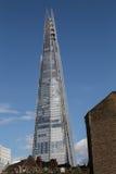 den 306m vinkeln är för london för landmarken för hdr för eu för byggnadskonstruktion willen för skyen den nya scrapper skärvan s Royaltyfri Foto