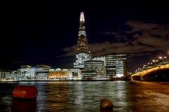 den 306m vinkeln är för london för landmarken för hdr för eu för byggnadskonstruktion willen för skyen den nya scrapper skärvan s Fotografering för Bildbyråer