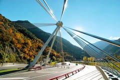 Den Madrid bron Royaltyfria Foton