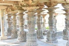 Den Mahadeva templet, västra Chalukya, Itagi, Koppal, Karnataka Arkivbild
