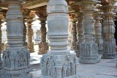 Den Mahadeva templet, västra Chalukya, Itagi, Koppal, Karnataka Royaltyfria Foton