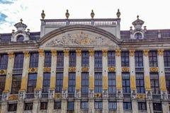 Den Maison desen Ducs de Brabant - Grand Place, Bryssel, Belgien arkivfoton