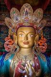 Den Maitreya Buddha Royaltyfria Bilder