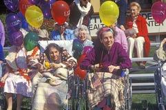 Den Maj stora festen ståtar i Silicon Valley, Cupertino, Kalifornien Royaltyfri Fotografi