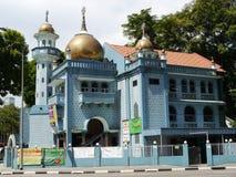 Den Malabar moskén, Singapore Arkivfoto
