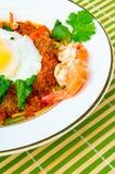 Den malaysiska maträtten kallade Mee Bandung Arkivbilder