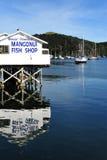 Den Mangonui fisken och chiper shoppar - Nya Zeeland Royaltyfri Foto