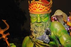 Den Mardi Gras natten ståtar Royaltyfri Fotografi