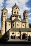 Den Maria Laach abbotskloster i Tyskland Royaltyfria Foton