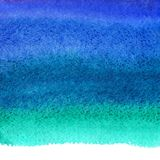Den marinblåa vattenfärgen befläcker bakgrund, ojämn kant vektor illustrationer