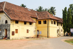 Den Mattancherry slotten en Cochin Royaltyfria Bilder