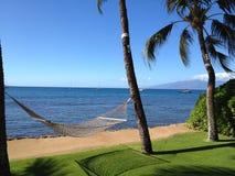 Den Maui sikten royaltyfri foto