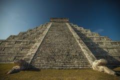 Den mayan Chichen itzaen fördärvar Royaltyfria Foton