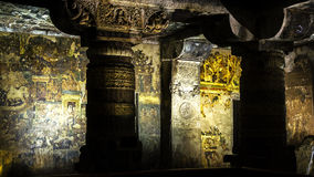 Den med den guld- pelaren Arkivbilder
