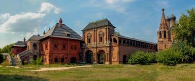 Den medeltida arkitektoniska helheten av den patriark- metochionen Royaltyfri Fotografi
