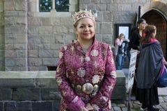 Den medeltida festivalen 2015 på fortet Tryon parkerar 9Part 2 40 Royaltyfri Fotografi