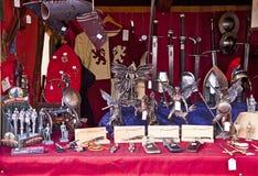 Den medeltida julen marknadsför, den Munich Tysklandet Arkivbild