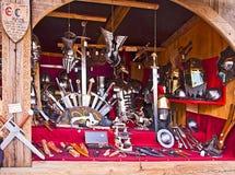 Den medeltida julen marknadsför, den Munich Tysklandet Royaltyfria Bilder