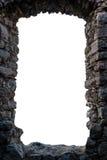 Den medeltida ramen vaggar Arkivbilder