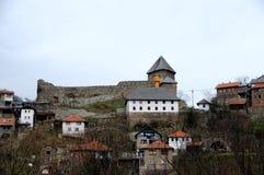 Den medeltida staden av Vranduk 3 arkivfoto