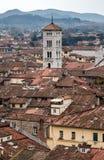 Den medeltida staden vaggar in Royaltyfria Foton