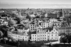 Den medeltida townen Royaltyfri Fotografi