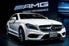 Den Mercedes Benz CLS 250 CDI-kupén Fotografering för Bildbyråer