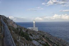 Den mest östliga punkten av Italien Arkivfoton