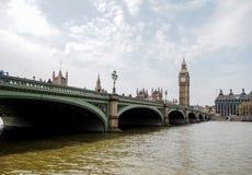 Den mest berömda London gränsmärket Big Ben, London, UK Royaltyfria Bilder