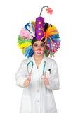 Den mest bra terapin för hälsa: leende arkivfoto