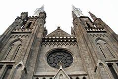 Den mest framstående katolska kyrkan i Jakarta, Indonesien royaltyfria bilder