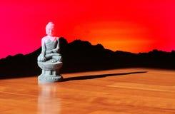 Den mest härliga Buddha i världen Fotografering för Bildbyråer
