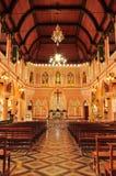 Den mest härliga katolska kyrkan, Chanthaburi landskap, Thailand Royaltyfria Bilder