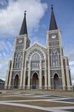 Den mest härliga katolska kyrkan, Chanthaburi landskap, Thailand Arkivfoton