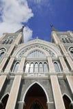 Den mest härliga katolska kyrkan, Chanthaburi pr Royaltyfri Bild