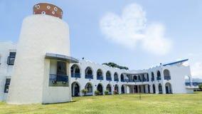 Den mest härliga Taitungen Conunty Fong Yuan Elementary School royaltyfri fotografi