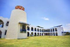 Den mest härliga Taitungen Conunty Fong Yuan Elementary School arkivbild