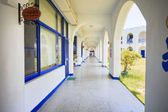 Den mest härliga Taitungen Conunty Fong Yuan Elementary School royaltyfri bild