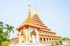 Den mest härliga templet i Thailand Royaltyfri Fotografi