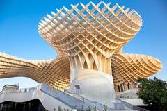 Den Metropol ett slags solskydd i Sevilla, Spanien Royaltyfri Foto